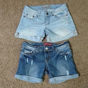 Two pairs of shorts juniors